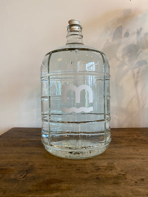 Three Gallon Glass Bottle