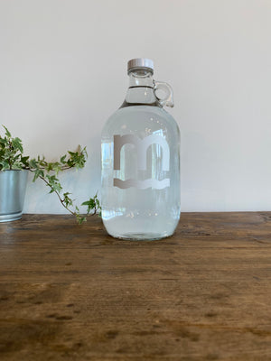 Half Gallon Glass Bottle