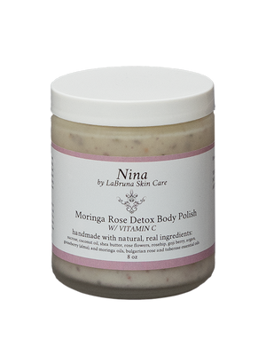 Moringa Rose Detox Body Polish