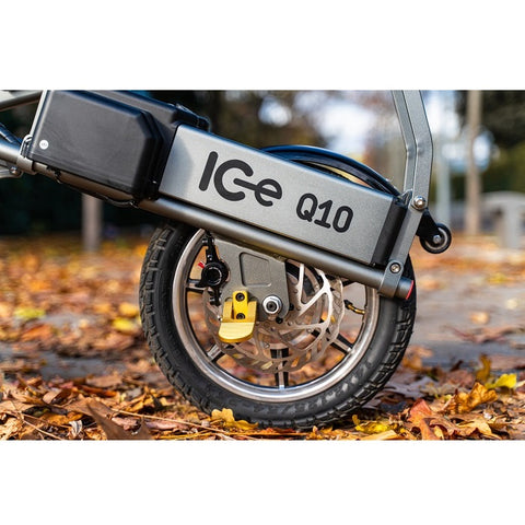 IC-Electric ICe Q10, 48V, 250 W, Triciclo Eléctrico Plegable