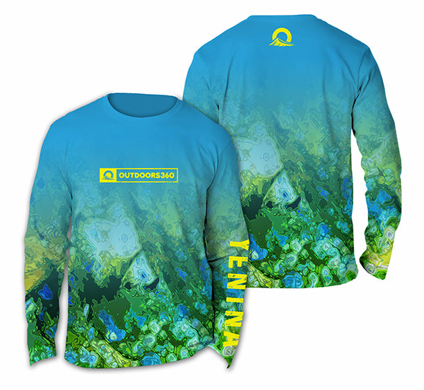 Outdoors360 Obsessed Youth Performance Series Long Sleeve Shirt