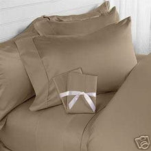 Elegance Linen Wrinkle-Free- 1500 Thread Count Queen Size Egyptian Quality 3pcs Duvet Cover, Taupe