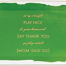 Kate Spade New York Posy Court Rectangular Tray - Green