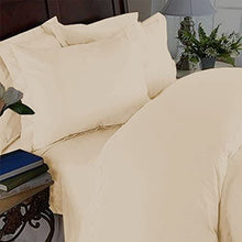 Elegant Comfort 3 Piece 1500 Thread Count Luxury Ultra Soft Egyptian Quality Coziest Duvet Cover Set, King/California King, Cream