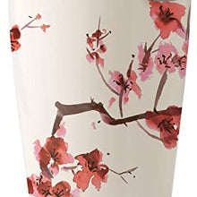 Tea Forte Kati Cup Ceramic Tea Infuser Cup with Infuser Basket and Lid for Steeping, Cherry Blossoms