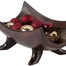 Creative Scents Schonwerk Decorative Centerpiece Bowl - Coffee Table Decor for Living Room - Centerpiece Dining Room Table Decorations for Home Decor - Mantle House Decor
