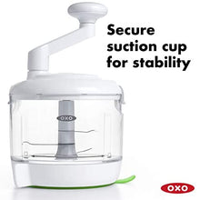 OXO Good Grips 8H-14824 One Stop Chop Manual Food Processor, 4-cup capacity,1 EA