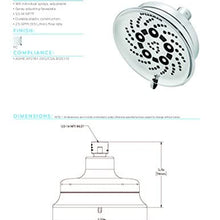 Speakman SR-124 Assana Anystream Multi-Function Shower Head, Polished Chrome