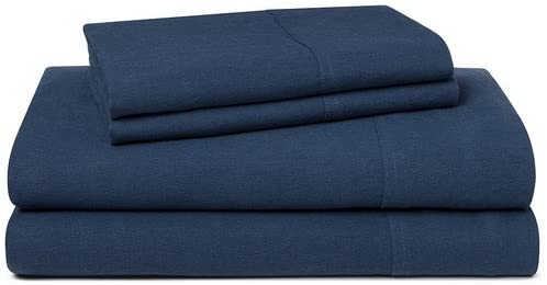 LINENWALAS 100% Cotton Bed Sheet – 300 Thread Count 1 Fitted Sheet Only|Silk Like Soft, Hypoallergenic, Breathable & Cooling Sateen |Hotel Luxury Bedsheets (Queen