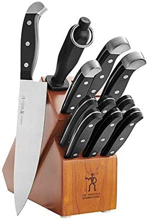 J.A. Henckels International 35309-000 Statement Knife Block Set, 12-pc