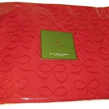 "Kate Spade ""All Wrapped Up"" Red Placemats Set/4"