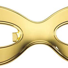 Kate Spade Two of a Kind Mask Bottle Opener, (Gold)