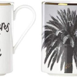 Kate Spade Spirit of Adventure Gifting Mugs Set of 2