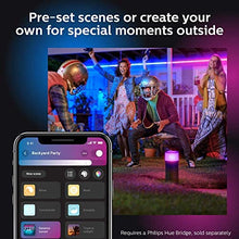 Philips Hue White & Color Ambiance Outdoor LightStrip 5m/16ft (Requires Hue Hub, Works with Amazon Alexa Apple HomeKit and Google Assistant)