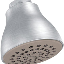 Moen 6300EPBC One Function 2 1/2-Inch Diameter Spray Head Eco-Performance Showerhead, Brushed Chrome
