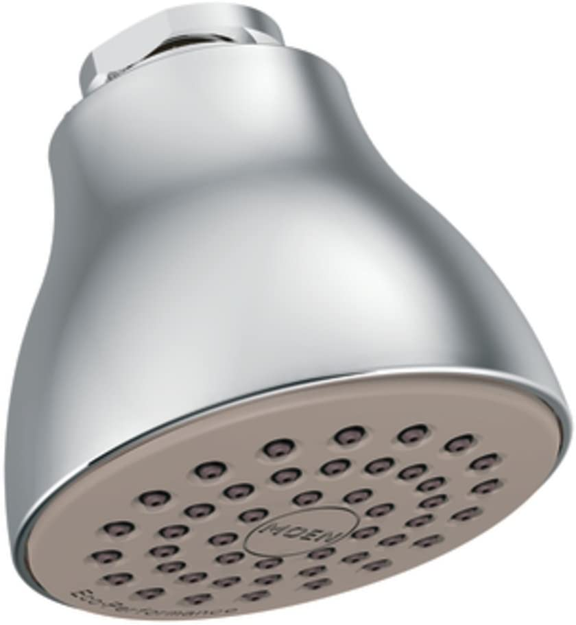 Moen 6300EP One-Function Eco-Performance Shower Head, Chrome