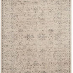 Safavieh Vintage Collection VTG430A Transitional Oriental Grey and Ivory Distressed Area Rug (5'1