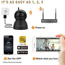 Faleemi Wireless Security Camera, WiFi Home Indoor Dog Pet Camera, 1080P HD Pan/Tilt/Zoom IP Camera, Baby Monitor, Nanny Cam with 2 Way Audio, Night Vision, Cell Phone App Remote View Control