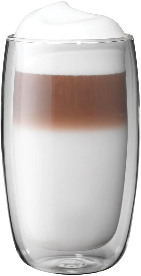 ZWILLING J.A. Henckels Zwilling ja henckels 39500-088 sorrento latte glass, glass, 2-piece