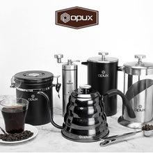 OPUX Premium Stainless Steel French Press, Double Wall Coffee Maker | Thermal Insulated Press Pot | 34 fl oz/1 Liter, Dishwasher Safe