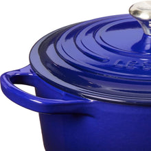 Le Creuset LS2501-2278SS Signature Enameled Cast Iron Round French (Dutch) Oven, 3 1/2 quart