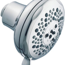 Moen 3855EP Five Function 4-Inch Diameter Standard Showerhead, Chrome