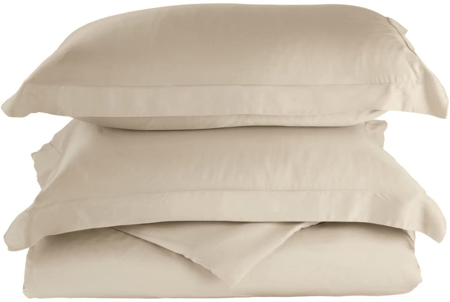 Superior 100% Rayon from Bamboo, Extremely comfortable, softer than cotton, King/ California King Duvet Cover Set, Solid