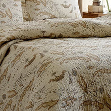 Tommy Bahama Map Quilt Set, Queen