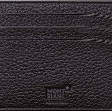 Mont Blanc Men's Meisterstuck Pocker 6Cc Leather Wallet