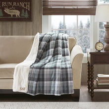 Woolrich Lumberjack Luxury Softspun D/A Filled Throw Brown 50x70   Plaid Premium Soft Cozy Cozy Spun For Bed