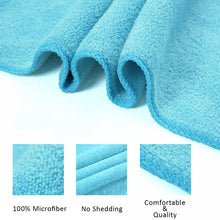 "JML Microfiber Bath Towels, Bath Towel 3 Pack(27"" x 55""), Soft, Super Absorbent and Fast Drying, Multipurpose Use for Sports, Travel, Fitness"