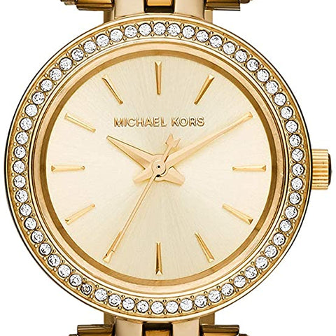 Michael Kors Petite Darci Three-Hand Watch with Glitz Accents