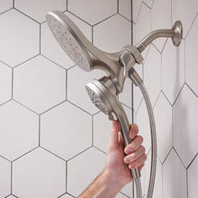 Moen 26009 Engage Magnetix 2.5 GPM Handheld/Rain Shower Head 2-in-1 Combo Featuring Magnetic Docking System