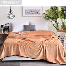 Charm Heart Luxury Fleece Blanket,All Season Super Soft Warm 350GSM Blankets Thick Blanket for Home Bed Blankets Queen Size