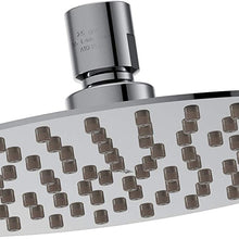 "Moen S1005 Collection 8"" Razor Thin Rainshower Shower Head, Chrome"