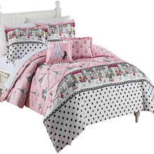 Waverly Kids 16434BEDDTWNPUR Ipanema 86-inch by 68-Inch Reversible Twin Bedding Collection