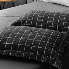 NANKO Duvet Cover Queen, Set 3 Piece - 1200 TC Hotel Luxury Lightweight Microfiber Down Comforter Cover Zipper, Ties - Best Modern for Men Women