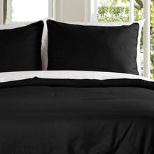 Lotus Home Water and Stain Resistant Microfiber Duvet Cover Mini Set