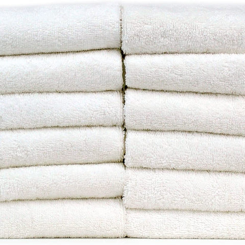 Chakir Turkish Linens Luxury Hotel & Spa Turkish Cotton Piano (White, Bath Towel-Set of 4)