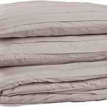 Amazon Brand – Rivet Raw-Edge Cotton Duvet Cover Bedding Set, Soft and Easy Care, Full / Queen