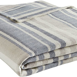 Eddie Bauer 213123 Herringbone Blanket, Full/Queen