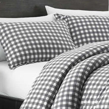 Eddie Bauer 223753 Preston Duvet Cover Set, Full/Queen
