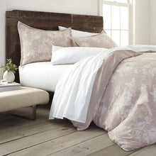 EcoPure 100% Organic Cotton Comfort Wash Sienna Duvet Cover Set, King
