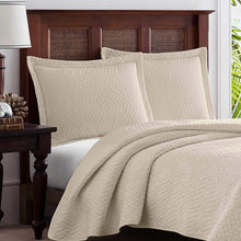 Tommy Bahama Chevron Quilt Set, King