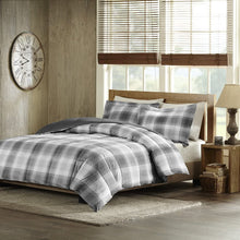 Woodsman Softspun Down Alternative Comforter Mini Set Grey Full/Queen