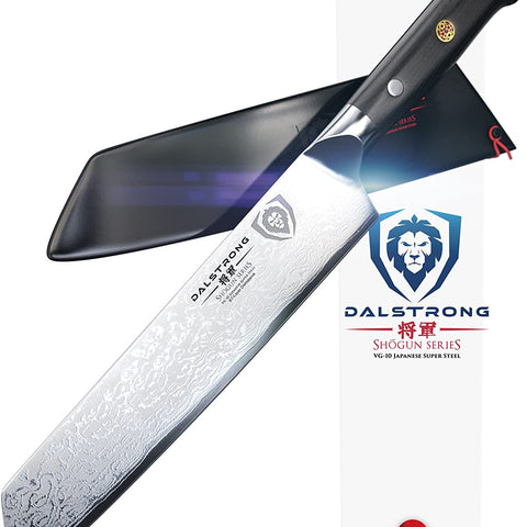 DALSTRONG Kiritsuke Chef Knife - Shogun Series - Damascus - Japanese AUS-10V Super Steel - 8.5