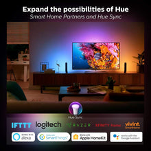Philips Hue White A19 60W Equivalent Dimmable LED Smart Bulb Starter Kit (2 A19 60W White Bulbs and 1 Hub Compatible with Amazon Alexa Apple HomeKit and Google Assistant), 2 Pack