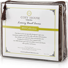 Cosy House Collection Duvet Cover 3 Piece Set - 1500 Series Ultra Soft Double Brushed Microfiber Hotel Bedding - Hypoallergenic - Comforter Cover and 2 Pillow Shams (King/Cal King