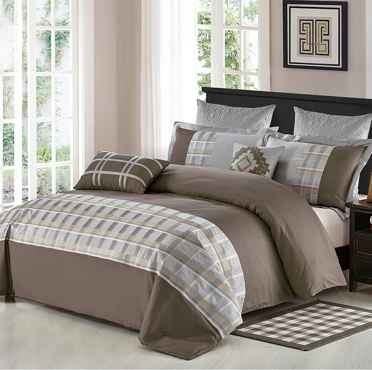 North Home Stanwick Duvet Cover Set Queen