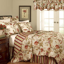 Waverly Charleston Reversible Quilt Collection, King, Multi